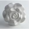 Möbelknöpfe/Porzellanknöpfe Rose weiss - 18