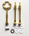 Etagere Metall-Stangen - barock gold - MINI