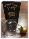 Kohlenfadenlampe