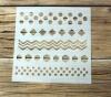 Schablone Muster - 4