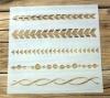 Schablone Muster - 5