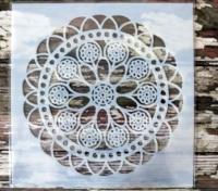 Schablone Muster - 13