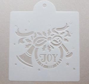 Schablone Muster - joy - 25