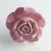 Möbelknöpfe/Porzellanknöpfe Rose rosa