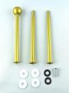 Etagere Metall-Stangen - Kugel gold matt
