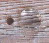 Magnet mit Cabochon - rund