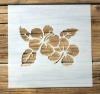 Schablone Muster - Blume