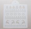 Schablone Muster - weihnachten - 26