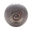 Möbelknöpfe/Porzellanknöpfe rund -  grau  - 30