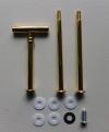 Etagere Metall-Stangen - T- gold