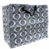 Praktische Jumbo-Tasche aus recyceltem Plastik - Barock schwarz