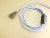 Tassenlampe weiss/blau